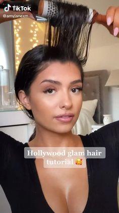 Hair Up Styles, Natural Hair Styles, Blowout Hair, Curly Hair Tips, Aesthetic Hair, Hair Videos, Pretty Hairstyles, Hair Looks, Hair Trends
