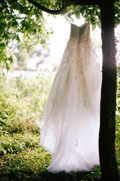 outdoor wedding dress pic