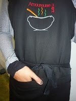 Amoureusement-Soupe et les Tabliers de NDG Parisian, Sweatshirts, Long Sleeve, Sleeves, Mens Tops, T Shirt, Fashion, Aprons, Supreme T Shirt