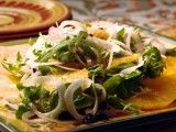 Cooking Channel serves up this Orange, Red Onion and Fennel Salad recipe from Debi Mazar and Gabriele Corcos plus many other recipes at CookingChannelTV.com