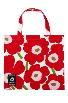 Pieni Unikko 50th Anniversary bag by Marimekko