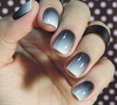 Tutorial – Unhas 50 tons de cinza