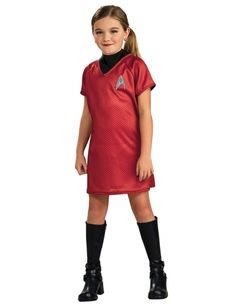Uhura Deluxe Star Trek Movie Red Dress Space Science Fiction Girls Costume M Dress Up Costumes, Disney Costumes, Girl Costumes, Adult Costumes, Costumes For Women, Mermaid Costumes, Couple Costumes, Adult Mickey Mouse Costume, Frozen Costume Adult