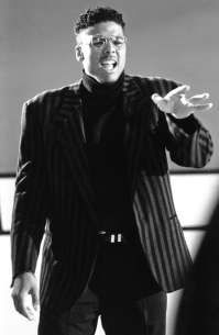 Al B Sure - in the video Somebody for Me with Heavy D