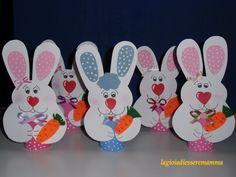 lavoretto di pasqua: coniglietti portauova