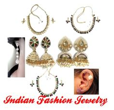 Indian Fashion Jewelry by mogul-interior on Polyvore