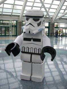 LEGO Stormtrooper cosplay