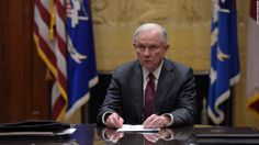 Attorney General Jeff Sessions met twice last year with the top Russian diplomat in Washington whose interactions with President Donald Trump's former national security adviser Mike Flynn led to Flynn's firing, according to the Justice Department.