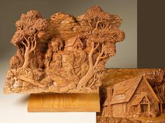 Dayton Carvers - Artistry In Wood Competition 2013