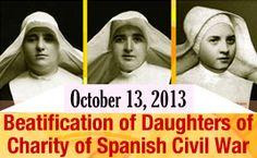 Catholic Feast Days, Catholic Saints, Roman Catholic, Daughters Of Charity, Nuns Habits, Pope Francis, My Passion, Faith, War