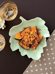 【ELLE a table】焼きかぼちゃのかりかりアーモンドレシピ|エル・オンライン