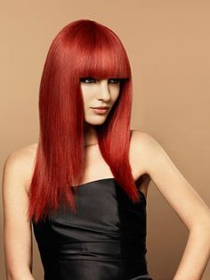 cherry red hair color 2013 Unique Red Hair Shades 2013 for Girls! Hair Color Highlights, Red Hair Color, Bob Hairstyles For Fine Hair, Messy Hairstyles, Red Hair Updo, Cherry Red Hair, Beautiful Red Hair, Gorgeous Lady, Shades Of Red Hair