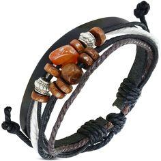 Bracelet cuir et breloque