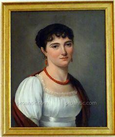 Louis Leopold Boilly Portrait De Dame Empire Huile/toile C1800, ARTE TRES GALLERY, Proantic