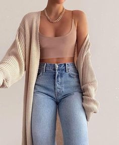 Basic Outfits, Winter Fashion Outfits, Mode Outfits, Simple Outfits, Look Fashion, Fall Outfits, Summer Outfits, School Outfits, 70s Fashion