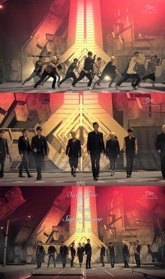 """Super Junior uses matrix cameras for their """"Sexy, Free %26 Single"""" MV"""