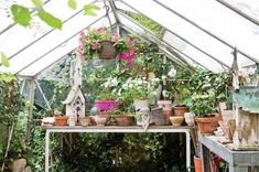 We've gathered some of our favorite potting sheds so you can glean inspiration to make your own personal gardening retreat.