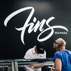 I would be fish from here just because the logo is awesome. Mural and type by @drwindmills   #typegang if you would like to be featured   typegang.com by type.gang
