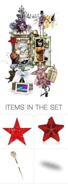 """Out-Of-This-World Post Day - Dark Fantasy Mailbox"" by crysta1 on Polyvore featuring art"