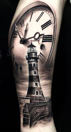 100 tatuagens masculinas no braço - Beach & Wasser - Forarm Tattoos, Dad Tattoos, Forearm Tattoo Men, Body Art Tattoos, Tattoos For Guys, Ship Tattoos, Ankle Tattoos, Arrow Tattoos, Tattos