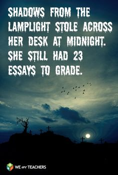 REAL Scary Stories for Teachers