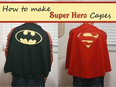 Runs With Spatulas: Super Hero Capes