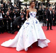 Jourdan Dunn in Ralph & Russo Cannes 2016 Film Festival