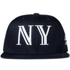 Black Balmain NY Snapback