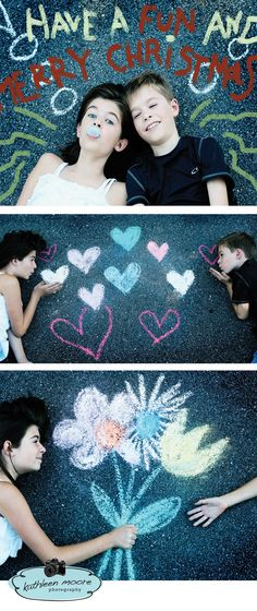 Sidewalk Chalk photo session Chalk Photography, Children Photography, Mini Sessions, Photo Sessions, Chalk Photos, Pavement Art, Chalk Design, Sidewalk Chalk Art, Kodak Moment