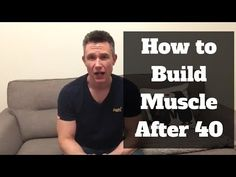 How to build muscle after 40? You need a different approach to building muscle once you're in your forties, in this article I'll tell show you how.