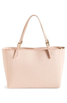 Free shipping and returns on Tory Burch 'York' Buckle Tote at Nordstrom.com. Delicate gilt buckles grace the slender straps atop a streamlined tote shaped from lavish Saffiano leather.