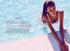EDITORIAL The Tropical Winter  Fotógrafo: Fábio Wanderley Beleza: Sayonara Veraz Styling: Ana Paula Gaudêncio Modelo: Thaís Martins