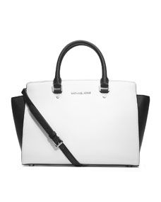Office-chic. Selma Saffiano Satchel