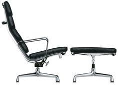 Aluminium Chair - Soft Pad - EA 222 von Vitra