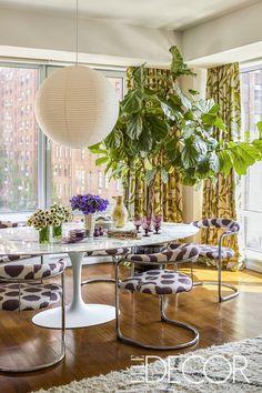 Home Tour: A Public Relations Specialist's Home Proves Taking Design Risks Definitely Pays Off - ELLEDecor.com