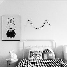 kids room, Heico lamp, Kartell Componibilli drawer, luckyboysunday pillow, minniwalla poster