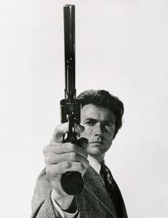 """Smith & Wesson M29 and Clint Eastwood as """"Dirty"""" Harry Callahan on Magnum Force"""