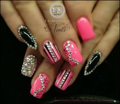 Luminous+Nails+%26+Beauty%2C+Gold+Coast+Queensland.+Acrylic+Nails%2C+Gel+Nails%2C+Sculptured+Acrylic+with+Mani+Q+Black+101%2C+Custom+Hot+Pink+Gel%2C+%26+Crystals.+.jpg 1,600×1,396 pixels