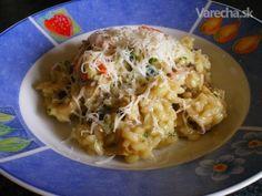 Hubové rizoto (fotorecept) - Recept
