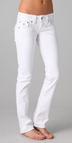 b71c64d4e TRUE RELIGION Billy Straight Leg Jeans -  196