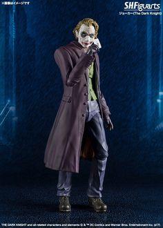 S.H. Figuarts The Dark Knight Joker Figure by Tamashii Nations
