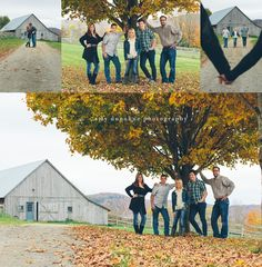 Vermont family photographer captures family by a rustic barn Amy Donohue