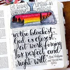 Bible Journaling by @neelysphoto                                                                                                                                                                                 More