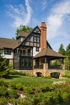 Tudor Design Ideas Pictures Remodel and Decor - page 6 Tudor House & 17 best Tudor Style Home Exterior images on Pinterest | Pole barn ...
