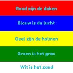 Dat zijn de kleuren van Terschelling #vlag