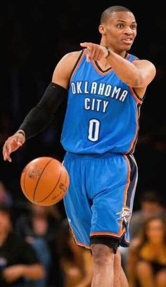 Russell Westbrook OKC Thunder That face. Thunder Players, Thunder Nba, Oklahoma City Thunder, Basketball Is Life, Basketball Legends, Basketball Teams, Westbrook Okc, Russell Westbrook, Oaklahoma City