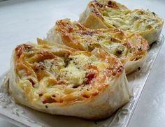 Pita Recipes, Bread Recipes, Chicken Recipes, Dessert Recipes, Cooking Recipes, Desserts, Kiflice Recipe, Bosnian Recipes, Pita Pizzas