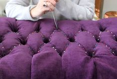 An online upholstery class that feels like you're right in the studio.