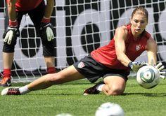Hope Amelia Solo, American soccer goalkeeper