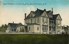: Royal Columbian Hospital, Sapperton, New Westminster, BC, c.1910
